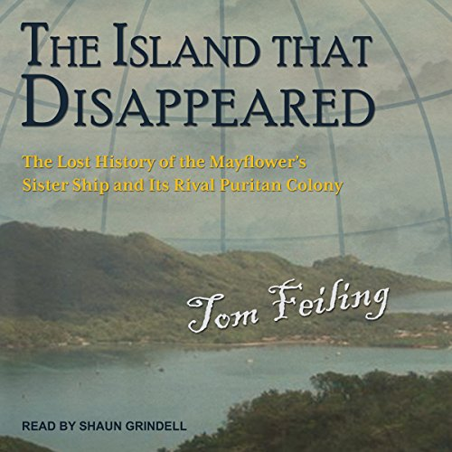 The Island That Disappeared audiobook cover art