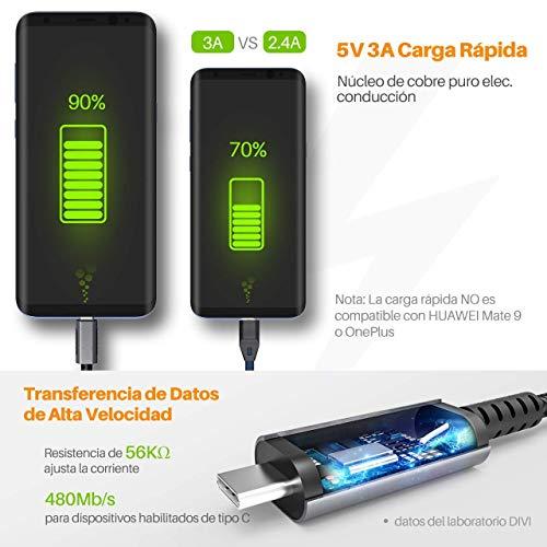 12000mAh Powerbank, VTIN Externer Akku 3-USB Ausgang Ladegerät Portabler Zusatzakku Quick Charge für iPhone, iPad, HTC, Huawei, Tablets und weitere(Schwarz)