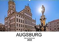 Augsburg 2022 (Wandkalender 2022 DIN A2 quer): Fotos aus Augsburg (Monatskalender, 14 Seiten )