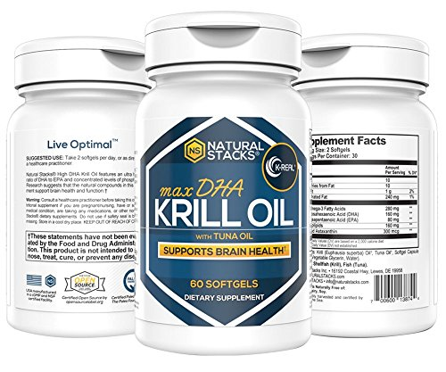 Premium Antarctic Krill Oil: 1000mg Capsules With 1.5mg of Potent Antioxidant Astaxanthin. For Optimal Cardiovascular Function, Brain Health & Immunity. Highly Bioavailable No Trace Metals.60 Softgels