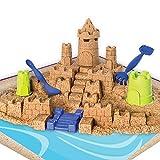 Kinetic Sand Construye tu Reino Arena Kinética (BIZAK 61927146)