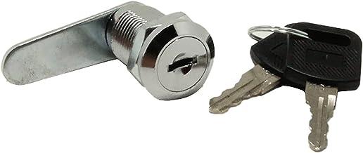Ladekast hefboomslot Cam Lock ladenslot met 2 sleutels, kastslot, meubelslot, nokkenslot voor deur, kast, brievenbus, kast
