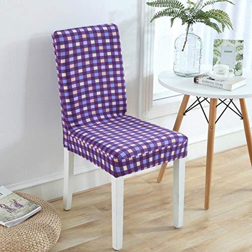 Bloem elastische eetkamerstoel hoes moderne verwijderbare anti-vuile keuken stoel beschermer hoes stretch stoel stoelhoezen voor banket, geen 12, universele maten