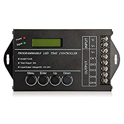 Sonline-20A-Programmierbar-Timer-Controller-DC12-24V-fuer-LED-RGBeinfarbige-Streifen
