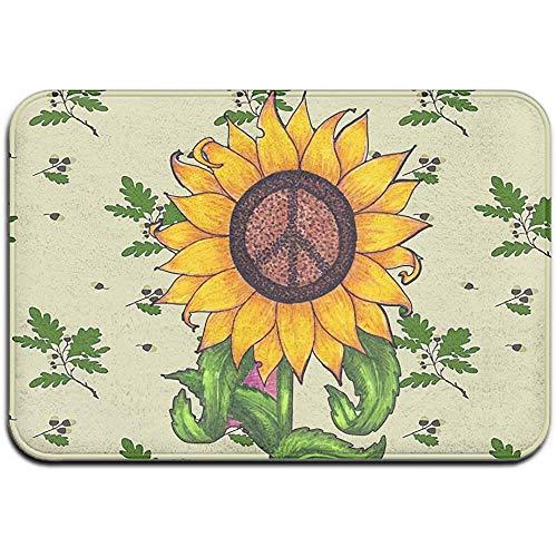 DaiMex Acorn Tree Sunflower patroon Outdoor mat huisdeurmatten ingangstapijt standaard tapijt