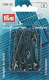 Prym Sicherheitsnadeln, 27/38/50mm, Sortiert, schwarz, 18 Stück, Stahl