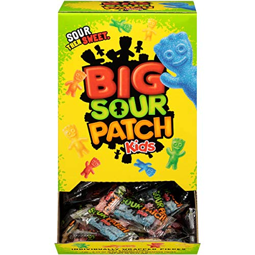 SOUR PATCH KIDS Easter Sweet & Sour Chewy Bulk Candy - 240 Individually Wrapped Packs