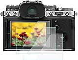 KOMET Protector de Pantalla para Fujifilm X-T4 X100V, Cristal Templado Flim Anti-Burbuja Anti-Huellas Anti-Polvo Anti-Arañazos [Paquete de 3)