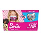 Children's Single Use Face Mask, Barbie, 14 Count, Small, Ages 2-7, Multi (61052)