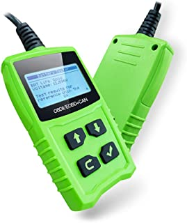 JDiag Universal Code Readers JD101 Engine Scan Tool Check Engine Light Car Diagnostic Tool OBDII Scanner with Battery Test...