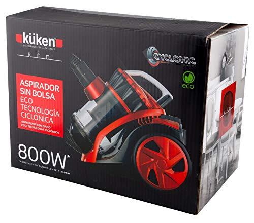 Kuke Aspirador Sin Bolsa Kuken 800 W,: Amazon.es: Hogar