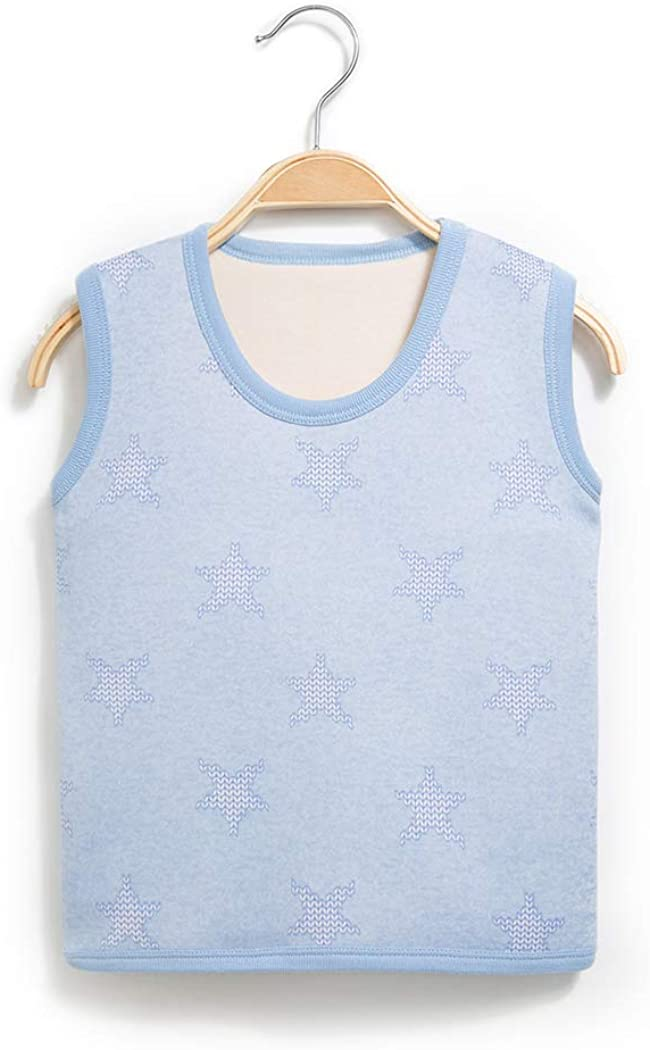 Ohrwurm Baby Kids Spring Warm Cotton Pullover Vest Round Neck Sleeveless Jacket