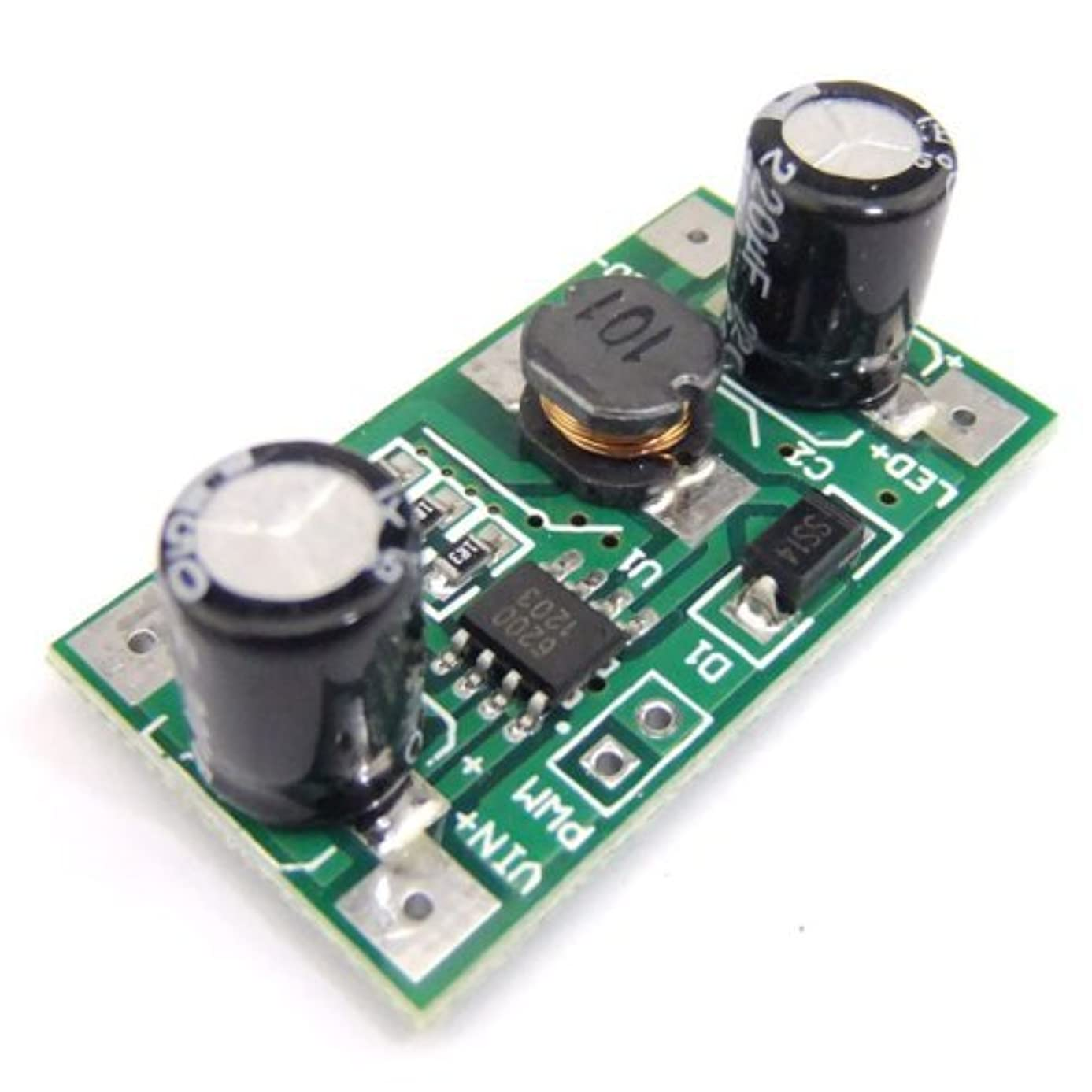 SMAKN? Constant Current 3W 700mA Dimmable LED Driver 12V Power supply 5-35V DC to DC Voltage Regulator