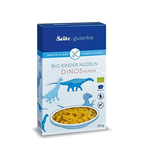Seitz glutenfrei BIO Kinder Nudeln Dinos (8*250g)
