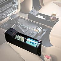 KMMOTORS 小銭、カード、領収書、スマートキーの車内収納、ワイドサイドポケット。