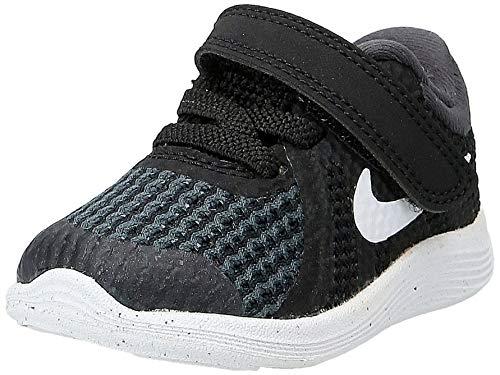 Nike Unisex Baby Revolution 4 (TDV) Hausschuhe, Schwarz (Black/White-Anthracite 006), Numeric_19_Point_5 EU