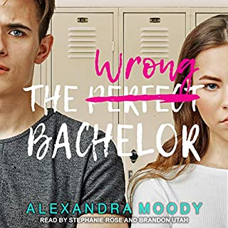 The Wrong Bachelor audiobook cover art