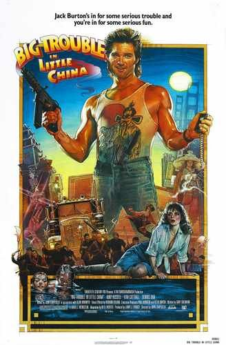 Big Trouble In Little China Poster 01 Photo A4 10x8 Poster Print