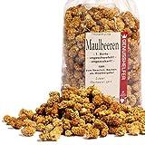 Maulbeeren Trockenfrüchte, unbehandelt, ohne Zuckerzusatz & ungeschwefelt, 150g - Bremer Gewürzhandel