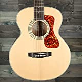 Guild Guitarra acústica Jumbo Jr Flame Arce, rubia antigua, Arco, Arco, Arco, Colección Westerly