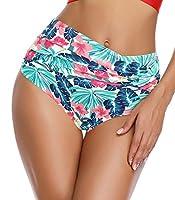 shekini costumi da bagno donna due pezzi bikini imbottito halter regolabile cross costumi mare donna con a vita alta stampato contorto bikini fondo elegante beachwear