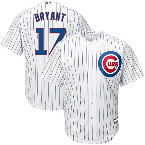 Outerstuff Kris Bryant Chicago Cubs MLB Boys Kids 4-7 Player Jersey (White Home, Kids 5/6)