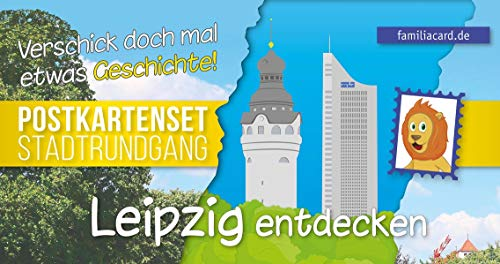 Leipzig entdecken: Postkartenset Stadtrundgang