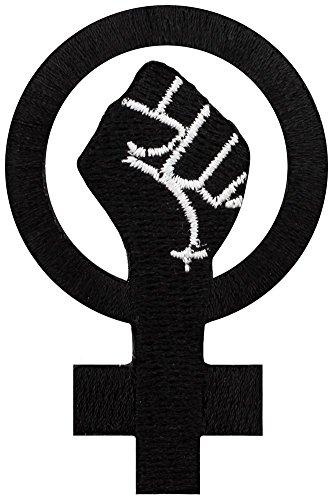 Grindstore - Parche con el símbolo feminista con puño