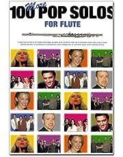 100More Pop Solos For Flute–Partituras para Flauta 100Pop Canciones especialmente Arreglados de Jack Long para flauta con el completa acorde símbolos