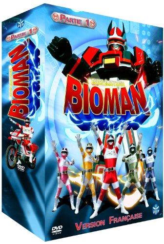 Bioman-Partie 1-Coffret 4 DVD-VF