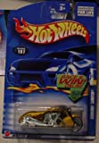 Hot Wheels Scorchin' Scooter 2002 #197 Gold 1:64 Scale