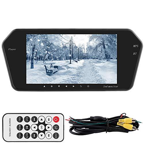 Akozon Cámara retrovisión visual pantalla LCD 7