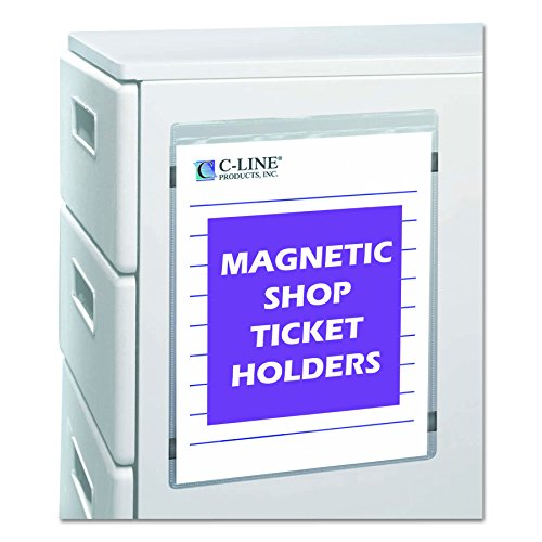 C-line magnétique Shop Vinyle soudé 9 x 12-Inch claire