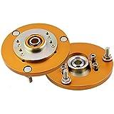 maXpeedingrods 2x Placa de Inclinación de Amortiguador para BMW E36 3 Series 318 320 323 328 M3, Placa de Camber para Suspensión, Material de Aleación 6061 y Ajuste Preciso por Bola de Almohada