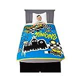 Franco Kids Bedding Soft Plush Micro Raschel Throw, 46' x 60', Despicable Me Minions
