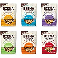 6-Pack Biena Chickpea Vegetarian Plant-Based Protein Snacks