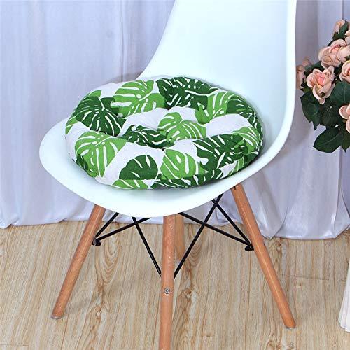 MELAG Cojines para Silla Silla cojín 6 Cojines de Asiento 40x40cm,45x45cm Cojines de Silla para Interior y Exterior - Decoración de Muebles de jardín Cojines de Silla (Redondos)
