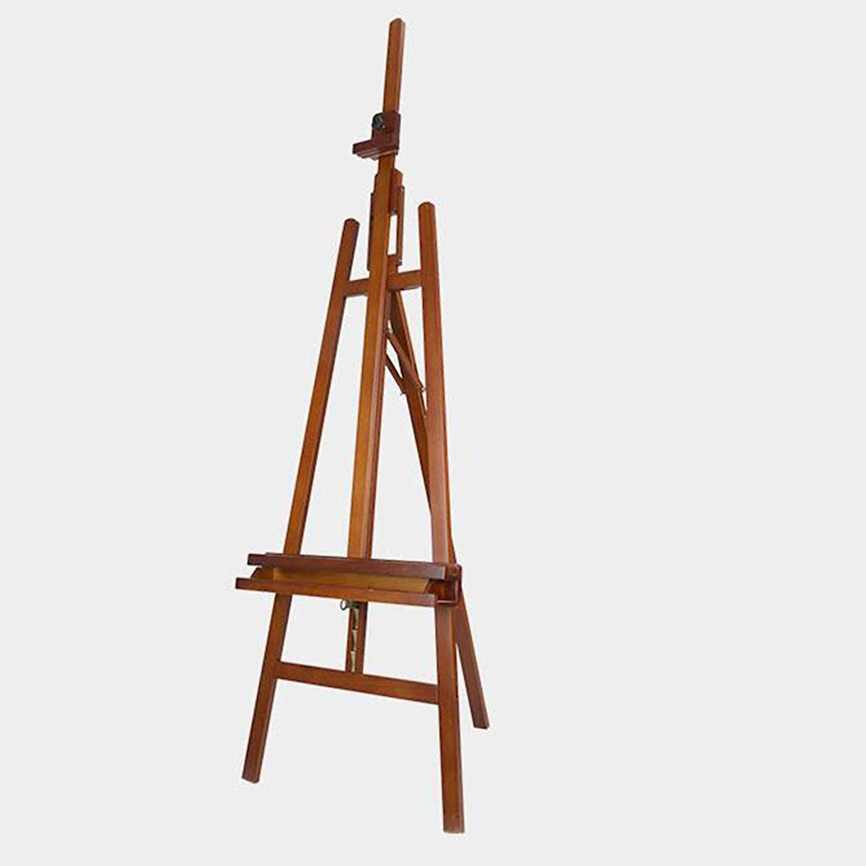 傾く苦悩無条件Yxsd 多機能の純木のイーゼル、調節可能なマルチアングル、屋内での使用に適した、クルミ色