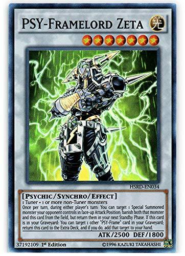 YU-GI-OH! - PSY-Framelord Zeta (HSRD-EN034) - High-Speed Riders - 1st Edition - Super Rare