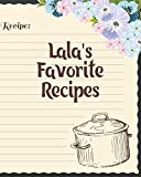 Lala's Favorite Recipes: Personalized Blank Cookbook and Custom Recipe Journal to Write in Cute Gift for Women Mom Wife: Recipe Page