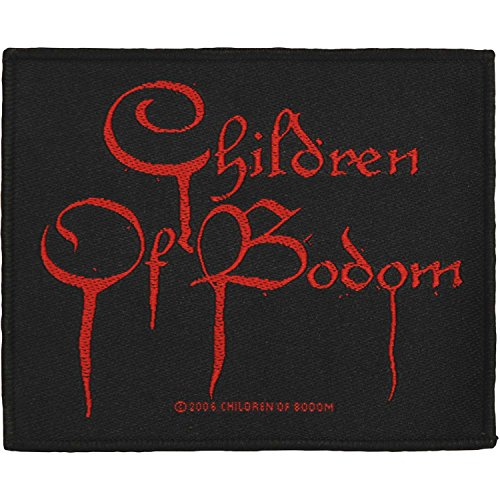 Children of Bodom Logo Patch Death Metal Thrash Band Fan Craft Sew On Applique