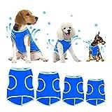 SELMAI - Chaleco de enfriamiento para perros pequeños, medianos y grandes, Chaleco de enfriamiento evaporativo Swamp Cooler en verano