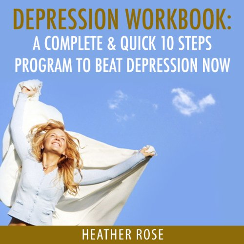 Depression Workbook audiobook cover art