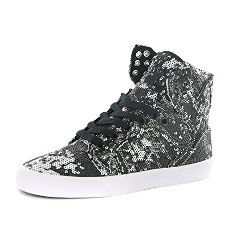 Supra Womens Skytop High Top Shoes, Size: 5 B(M) US, Color White/White/White