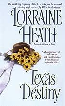 Lorraine Heath Texas series, 3 books, Texas Destiny, Texas Glory, Texas Splendor (Texas Trilogy, Volume 1 - 3)