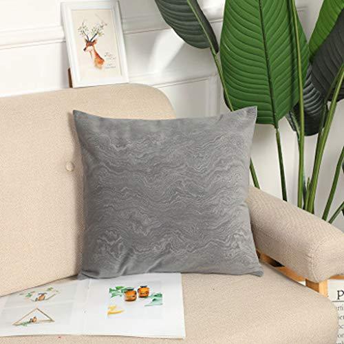 LLKK Cojines Decorativo para Sala Cojines Serie de Funda de Almohada de Lana de Coral para sofá de Sala de Estar sin núcleo (1 Articulo)