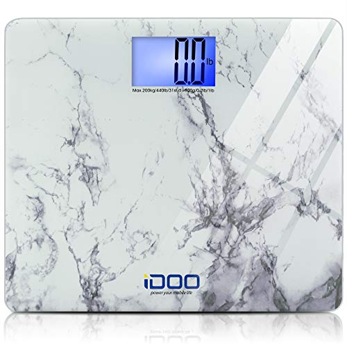 iDOO Digital Bathroom Scale Ultra-Wide Heavy-Duty Precision Oversized Digital Weight Scale
