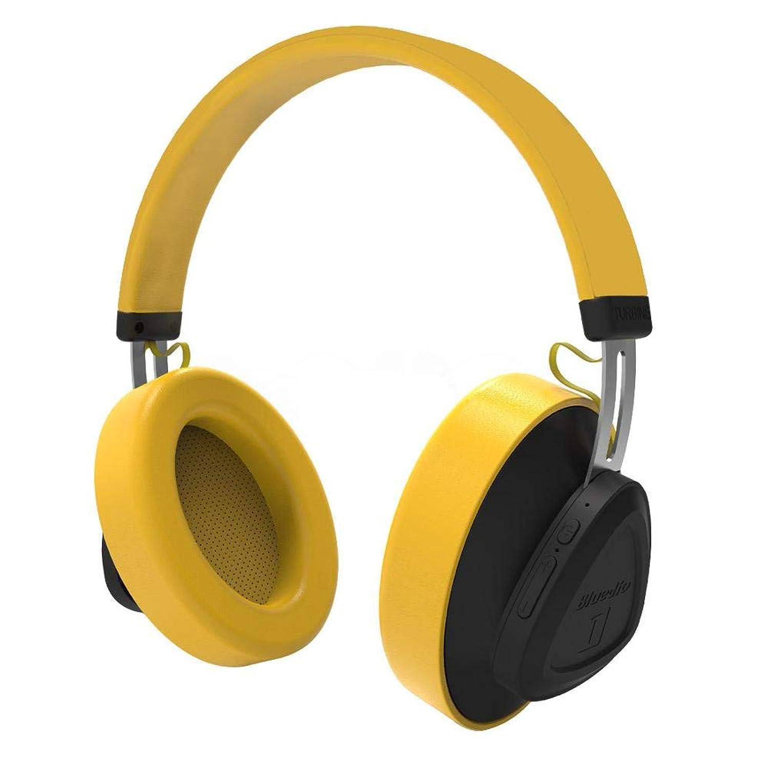 年齢暖かさバリア音楽と電話用のマイクモニタースタジオヘッドセット付きワイヤレスBluetoothヘッドフォンサポートボイスコントロール