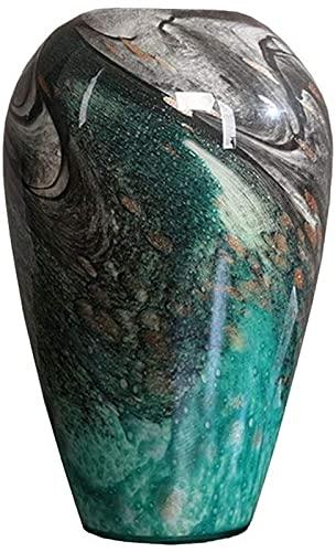Vase Dekoration Große Blume Hydroponische Glasvase Wohnzimmer Home Couchtisch Schlafzimmer Studie Büro Dekoration Chinesisches Glas JXLBB