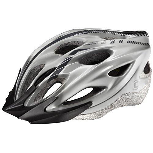 Cannondale Quick MTB - Casco de Ciclismo, Color Plateado, L - XL